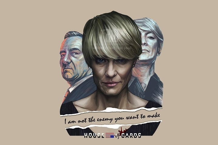 House of cards Claire Underwood WP