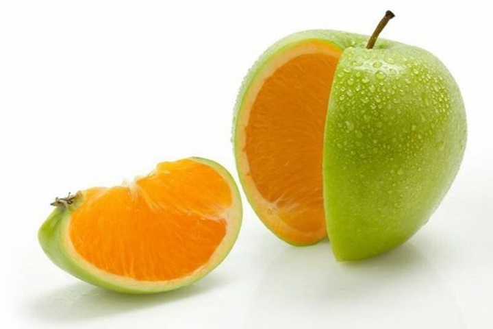 Think different Orange inside Apple WP