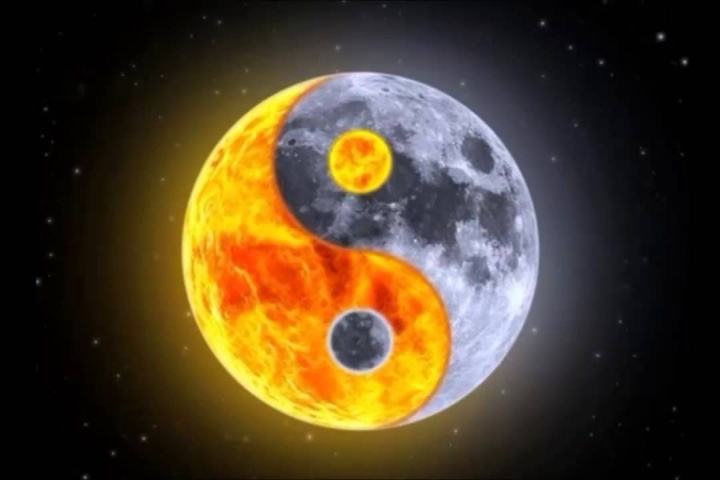 Full Moon Yin Yang WP