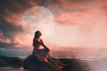 Lunárny Spln v Škorpiónovi 27. apríl 2021 AnteAr