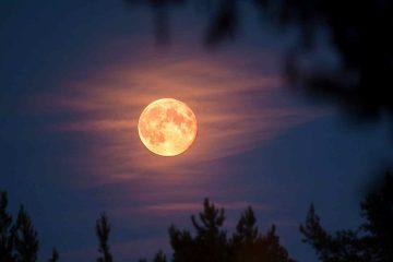 Zatmenie Mesiaca Spln Luna v Strelcovi 26. máj 2021 AnteAr