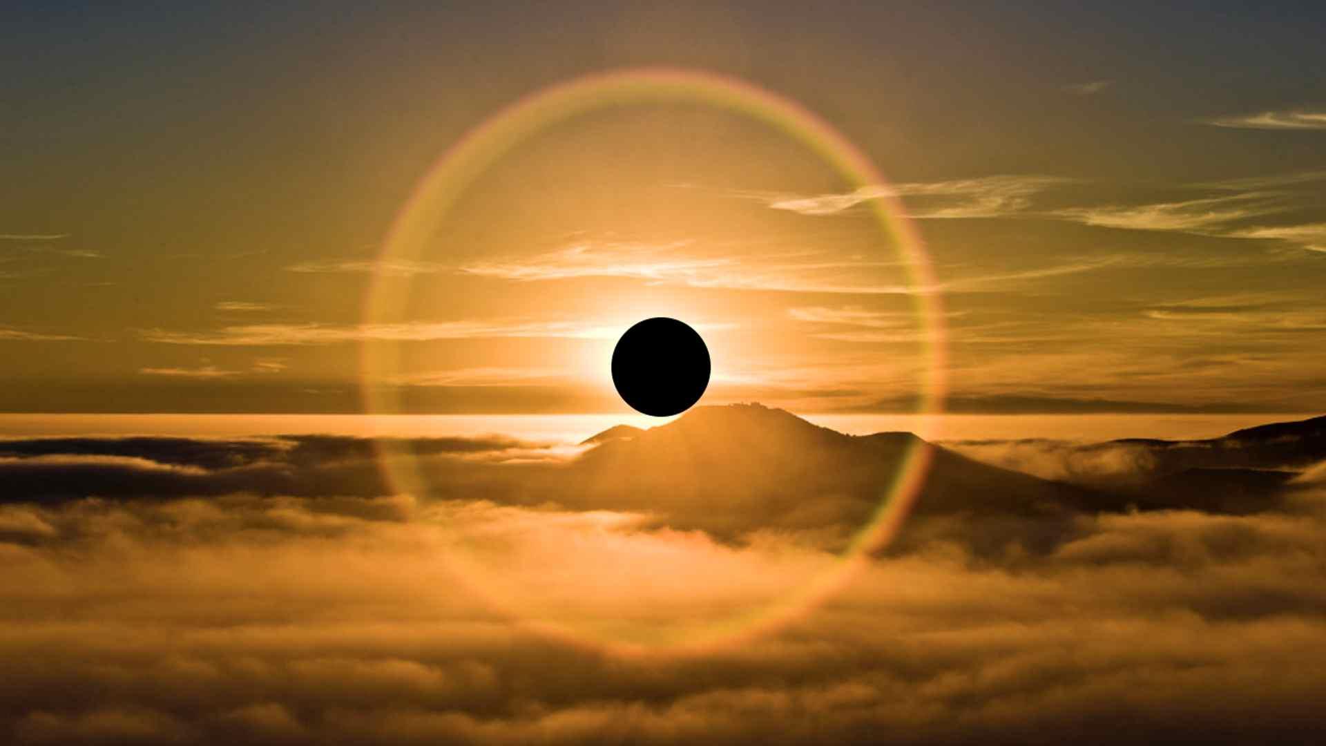 Lunárny Nov v Blížencoch 10. jún 2021 Prstencové zatmenie Slnka AnteAr